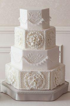 宝石のように美しいシュガーケーキ - センスあふれる、旬のウェディングケーキ図鑑 | SPUR.JP