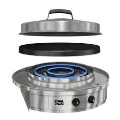 Evo Grill Two Burners mean two zones of cooking and total control. Limitless possibilities when you own an EVO grill. Get one at outdoorLUX.com