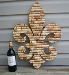 So neat! I'd need people to donate corks. It would take a long long time for me to get this many.