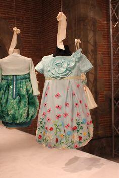 I Pinco Pallino spring 2015, dark pink dress. #ipincopallino #SS15 #spring #summer #springsummer2015 #childrens #kids #childrenswear #kidswear #kidsfashion #girls #boys #pittibimbo79