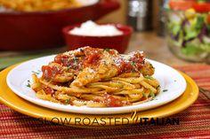 25 Minute Chicken-Parmesan Pasta Toss