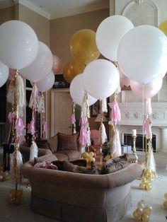 www.PalmBeachBalloons.com  Jumbo helium balloon decorating @ Admirals Cove Community in Jupiter Fl