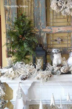 Great Room Mantel-Christmas 2104 Housepitality Designs