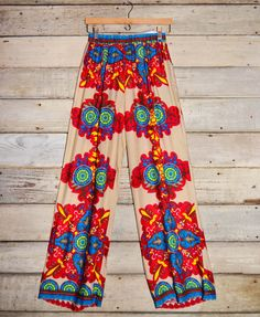 Printed Wide Leg Pants with Pockets – Deep South Pout