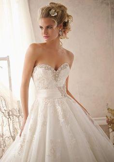 Wedding Bridal Gowns - Designer Morilee – Wedding Dress Style 2614