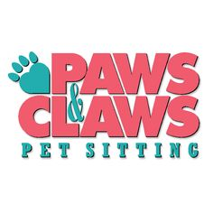 Paws and Claws. Logo design by McQuillen Creative Group. Troy McQuillen, designer.