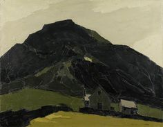 Chapel with a Mountain Behind  Sir Kyffin Williams