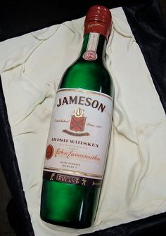 Jameson Bottle Cake by debbiedoescakes