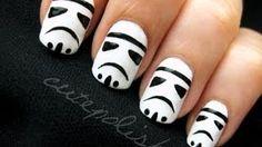 Stormtrooper Nails by cutepolish
