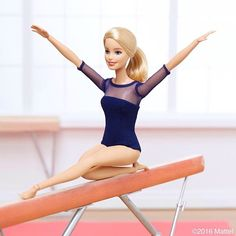 Beaming with excitement for today's final! #barbie #barbiestyle