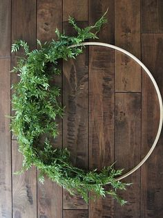 How to Make a Floral Hoop Wreath | Less Than Perfect Life of Bliss | home, diy, travel, parties, family, faith