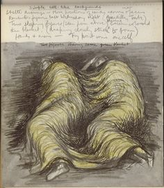 Henry Moore - Shelter Drawings