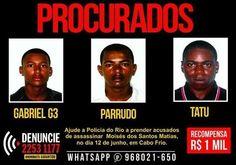 Notícias de São Pedro da Aldeia: AÇÕES POLICIAIS - Polícia oferece R$ 1 mil por for...