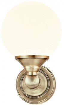 Aneta Lugano Seinävalaisin 1-os. Antiikkimessinki/valkoinen 33W G9 IP44 | Talotarvike.com Lugano, Luigi, Sconces, Wall Lights, Lighting, Design, Home Decor, Corning Glass, Chandeliers