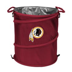 Washington Redskins Collapsible Trash Can d8f9cac25f766