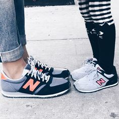 Mom and London new balance shoes