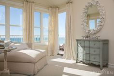 Dana Point, California Beach House Bedroom