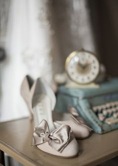 BHLDN wedding shoes | photos by Mustard Seed | 100 Layer Cake