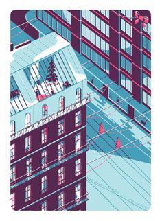 Transfuge #73 on Illustration Served