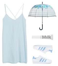 """""""Umbrella look"""" by zmoda ❤ liked on Polyvore featuring MANGO, adidas and Vera Bradley"""