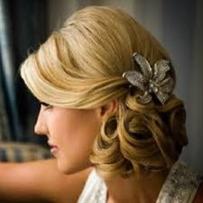 vintage side hairstyles - - Click image to find more Weddings Pinterest pins