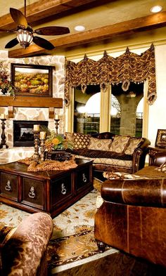 50 Luxury Living Room Ideas | Tuscan decor, Tuscan design and ...
