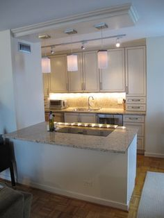 Galley Kitchen Design Ideas, Pictures, Remodel, and Decor - page 43