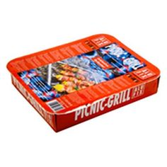 Gril Alufix PICNIC-GRILL, jednorázový, 29x24x4.5 cm Grilling, Picnic, Crickets, Picnics