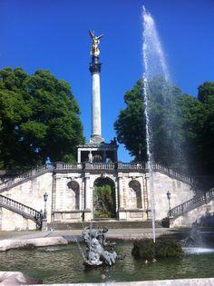 Munich, Friedensengel Angel of Peace