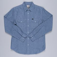 Lee Jeans Worker Shirt Navy