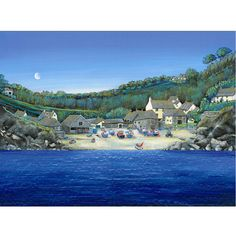 Cadgwith Cove from seaward by Gilly Johns.