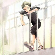 Nishinoya Yu by kuroasumo on DeviantArt Haikyuu Nishinoya, Kageyama Tobio, Haikyuu Anime, Devin Art, Haruichi Furudate, Haikyuu Volleyball, Anime Boyfriend, Cute Chibi, Cartoon Art