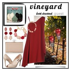 """CONTEST...BEST DRESSED"" by onesweetthing ❤ liked on Polyvore featuring Pottery Barn, Chalayan, Dolce&Gabbana, Judith Leiber, Oscar de la Renta, Waterford, napa, winerywedding, bestdressedguest and vineyardwedding"