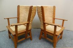 Pair Of Small Orkney Chairs - Antiques Atlas Looking To Buy, Get Directions, Chairs, Antiques, Furniture, Home Decor, Antiquities, Antique, Decoration Home