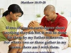 Praying in agreement praying in agreement with you inspiring if two of you on earth agree about anything they ask for it will be platinumwayz