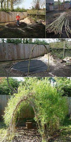 Weidenzaun Selber Machen Fur Eine Naturliche Gartengestaltung