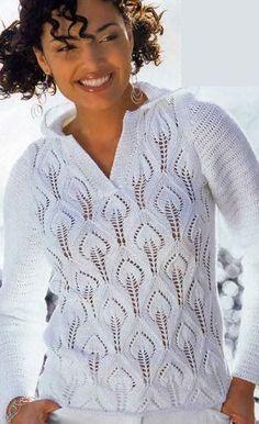 Deportes suéter agujas de tejer