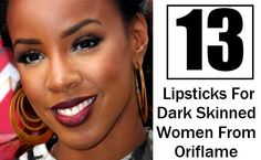 13 Top Lipsticks For Dark Skinned Women From Oriflame Available In India