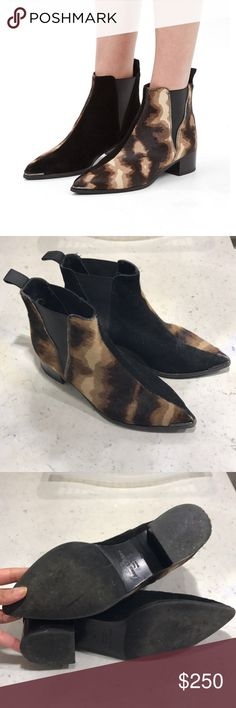 Acne Jensen Pony Hair Split Boots Acne Jensen boots in size 36. Very good condition Acne Shoes Ankle Boots & Booties