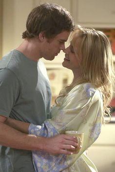 Dexter Morgan & Rita Bennett - Dexter (2006) aaaaaaaaaaaaaaahhhhhhhhhhhh i miss Rita my fave Dexter gf