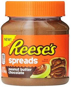Reese's, Spreads, Peanut Butter Chocolate, Jar (Pack of Peanut Butter Cups, Peanut Butter Popcorn, Healthy Peanut Butter, Creamy Peanut Butter, Chocolate Jar, Chocolate Spread, Chocolate Peanut Butter, Sour Patch Kids, Jell O