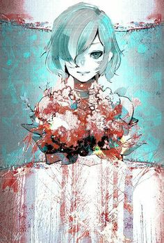 Find images and videos about art, anime and manga on We Heart It - the app to get lost in what you love. Kaneki, Comic Manga, Manga Anime, Anime Art, Tokyo Ghoul Fan Art, Juuzou Suzuya, Manga Artist, Anime Costumes, Wattpad