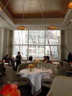 Dining room at Jean Georges, NY NY