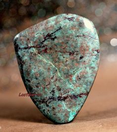 Rare Old Stock Arizona Bisbee Turquoise Cabochon by LostSierra, $24.00