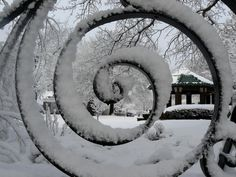 Snow Spiral - by RevMac