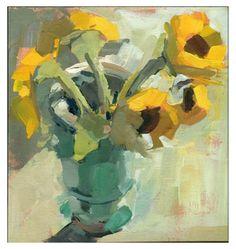 #792 July, painting by artist Lisa Daria Kennedy