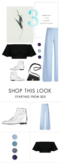 """""""Wed Nes Day"""" by pattykake ❤ liked on Polyvore featuring Topshop, Christopher Kane and Terre Mère"""