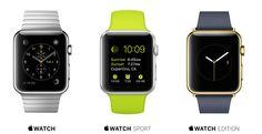 """Apple Watch 2015.  25 ideas para regalar o """"regalarte"""" en estas navidades y reyes."""
