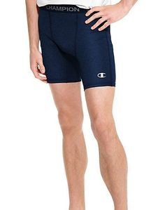 2abcd079cded Men Champion Men s PowerFlex Solid Compression shorts 87294 Units per With Double  Dry™ moisture wicking technology to keep you dry.