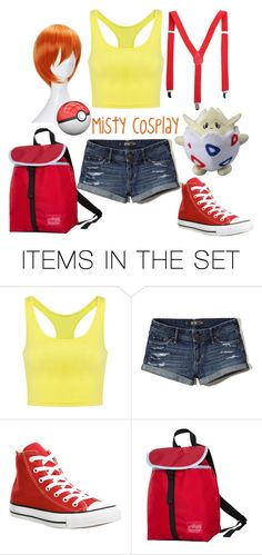 """Pokemon cosplay"" by custardandfishsticks ❤ liked on Polyvore featuring art"